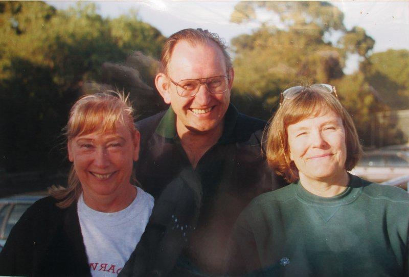 Brenda, Robert and Stella, in Australia