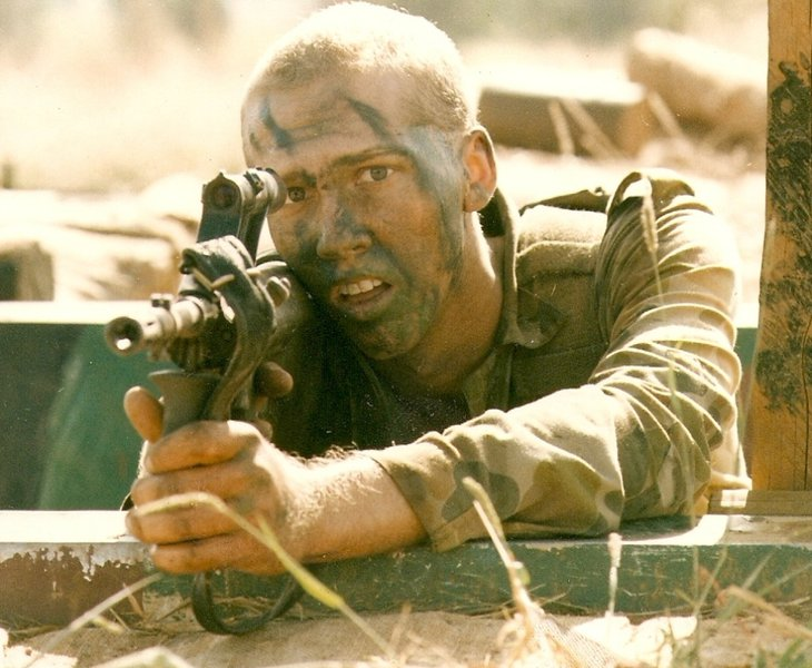 Kris army life.