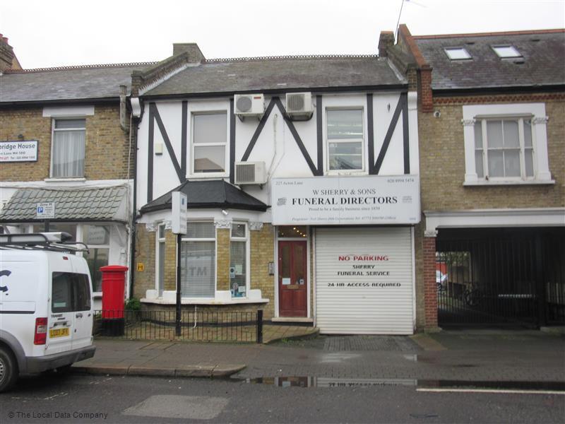W Sherry & Sons, Head Office