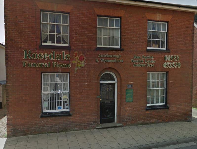 Rosedale Funeral Home, Attleborough, Norfolk, funeral director in Norfolk
