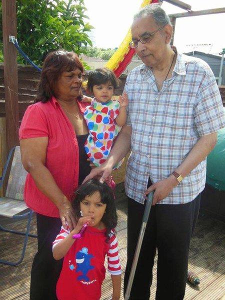 Bbq days with Sofia, Valentina, Nanny and Grandad