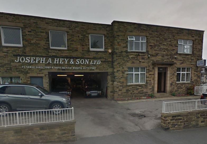 Joseph A. Hey & Son Ltd, Bradford