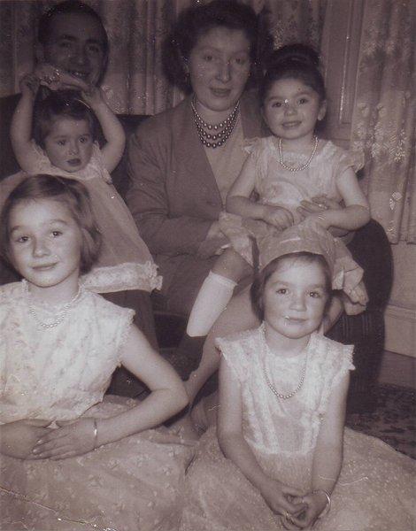 Mum and Dad, Susan, Tina, Jean and Anne.