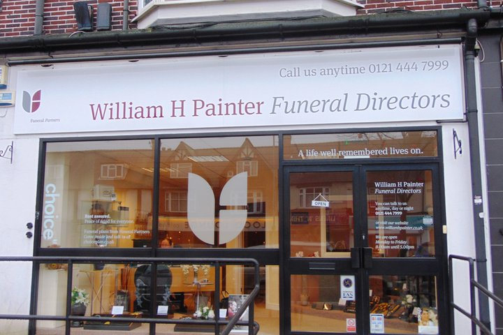 William H Painter Funeral Directors, Kings Heath