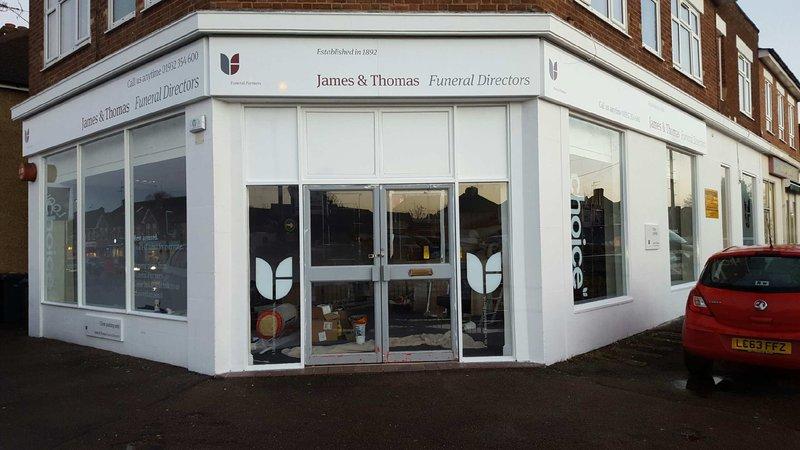 James & Thomas Funeral Directors, New Haw