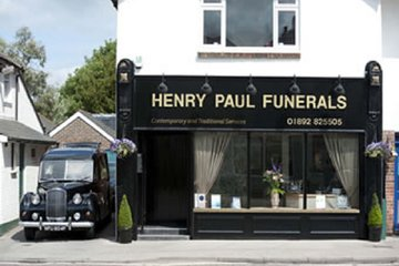 Henry Paul Funerals, Pembury - Head Office
