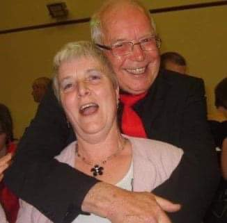 Having fun with my bestest cousin, always in my thoughts Viv, love always Jean ❤️