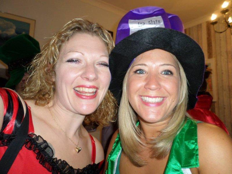 Mad hatters fancy dress - Weymouth