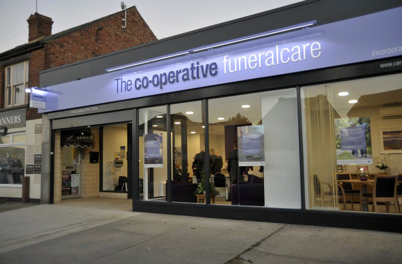 The Co-operative Funeralcare Caister on Sea, Norfolk, funeral director in Norfolk