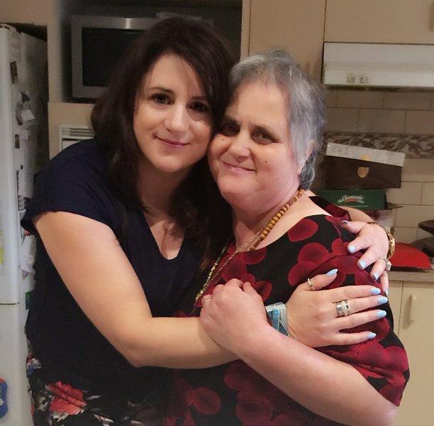 Me and mum on my 40 th birthday