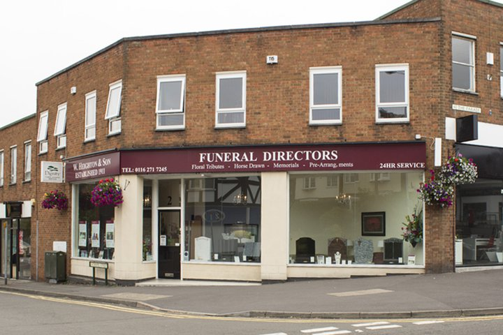 W Heighton & Son Funeral Directors, Oadby