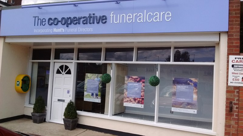 The Co-operative Funeralcare Gorleston, incorporating Hunts