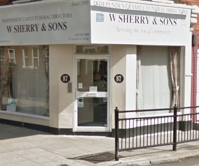 W.Sherry & Sons, Hanwell