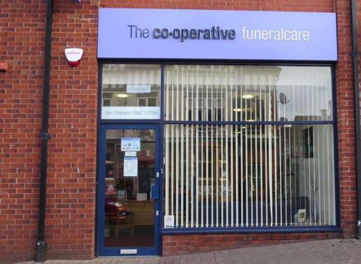 Co-op Funeralcare, Ashton in Makerfield