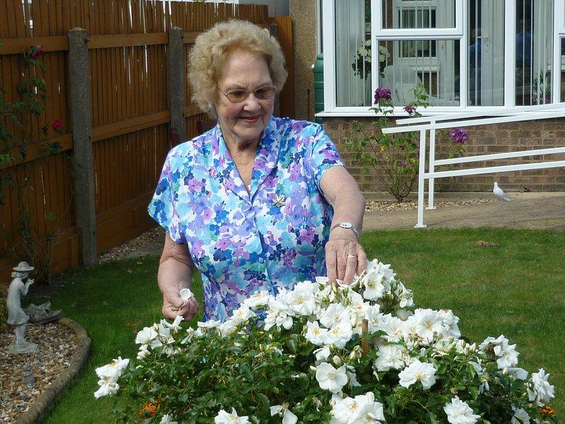 Mum loved her garden.