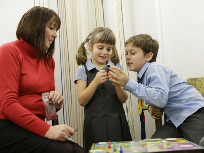 Helping children through grief at Marie Curie
