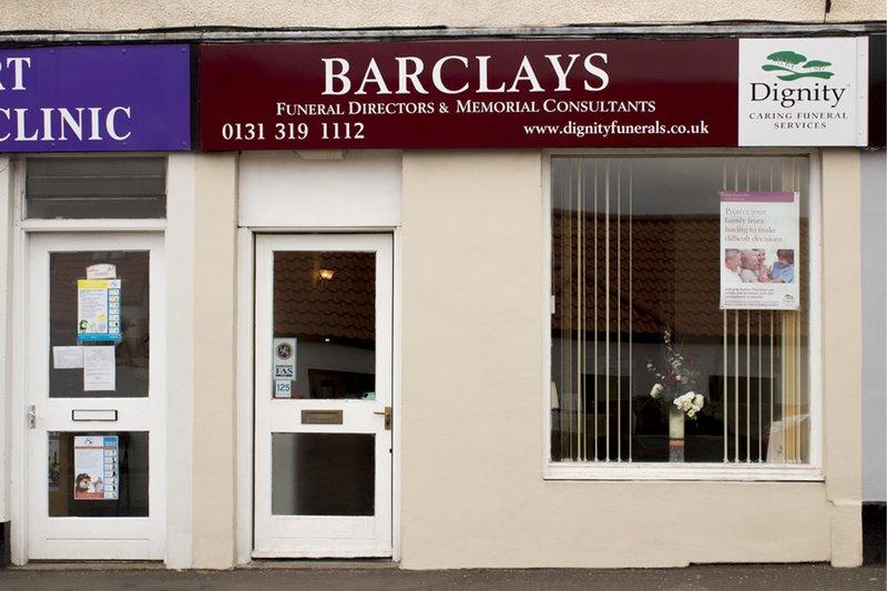 Barclays Funeral Directors, Morningside, Edinburgh, funeral director in Edinburgh