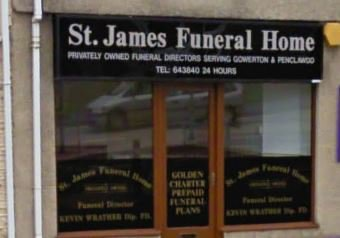 St James Funeral Home, Gowerton