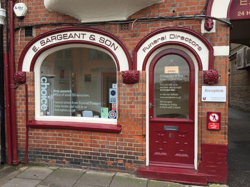 E Sargeant & Son Funeral Directors, Windsor