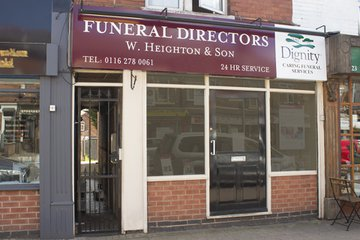 W Heighton & Son Funeral Directors, Wigston