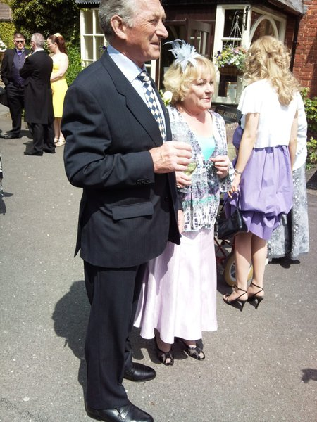 Mum & Dad at my wedding xx