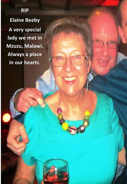 RIP Elaine gone but never forgotten for the time we spent with you.