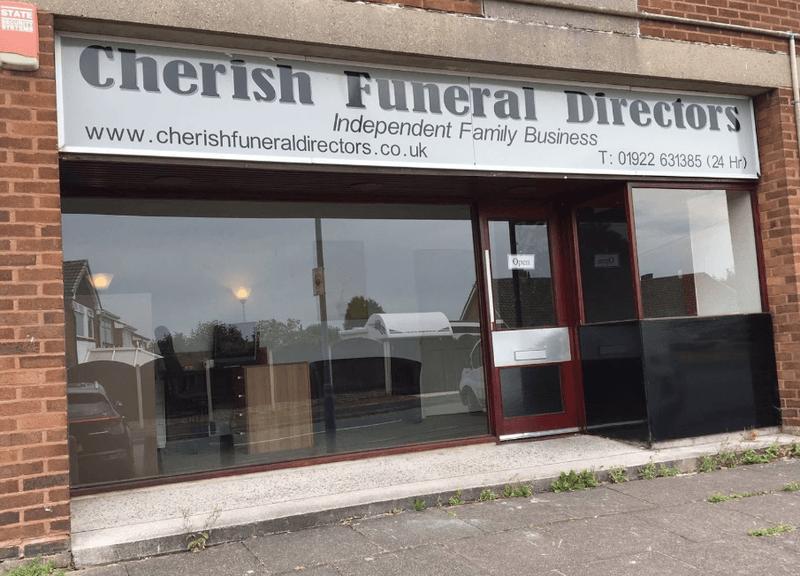 Cherish Funeral Directors, Walsall, West Midlands, funeral director in West Midlands