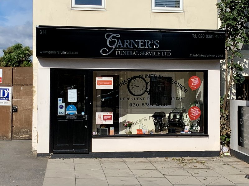 Garner's Funeral Services Ltd, Chessington