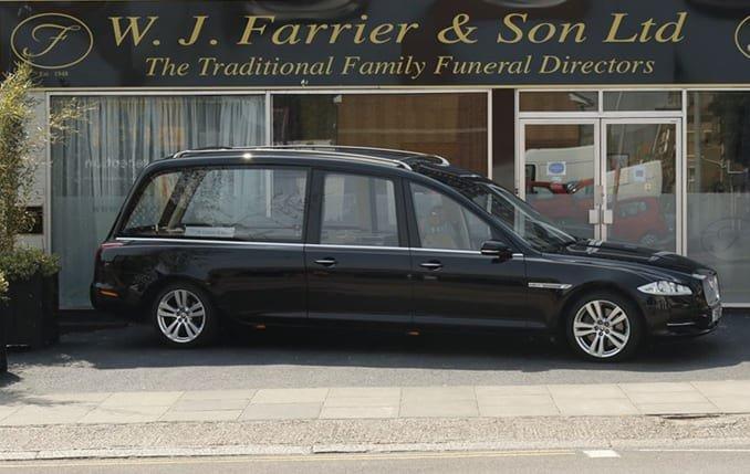 W J Farrier & Son Ltd, Folkestone, Kent, funeral director in Kent