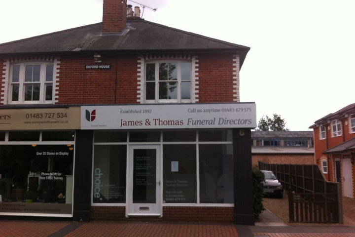James & Thomas Funeral Directors, St Johns