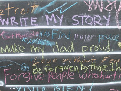 'Before I die…': The simple chalkboard that's inspired people around the world