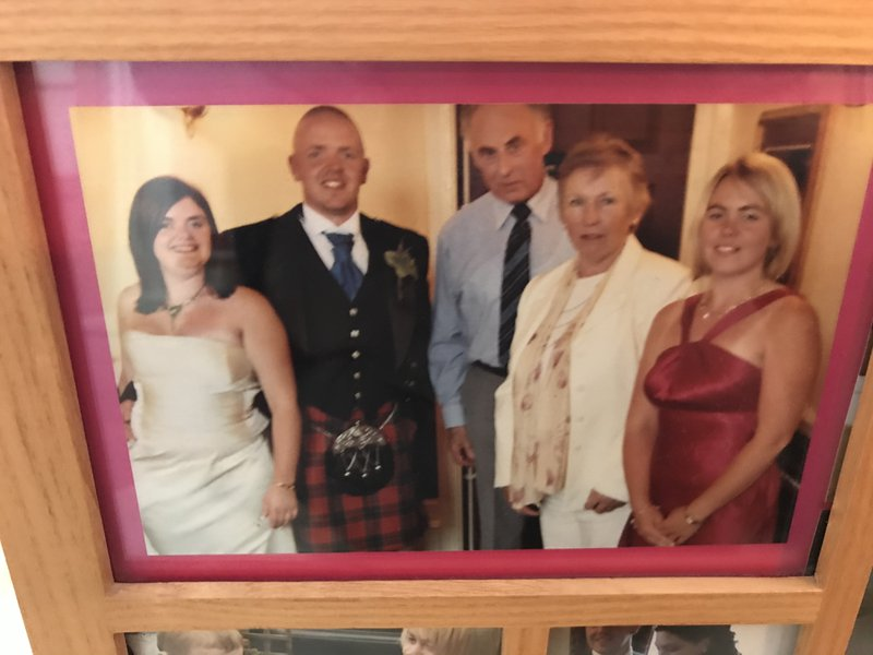 My brothers wedding day more family than just friends both Trevor and Lyn missed so much xxx