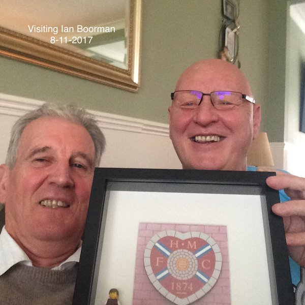 A wee Pressy from a Ian, when visited him..Rest in peace..always in my thoughts...Big Al