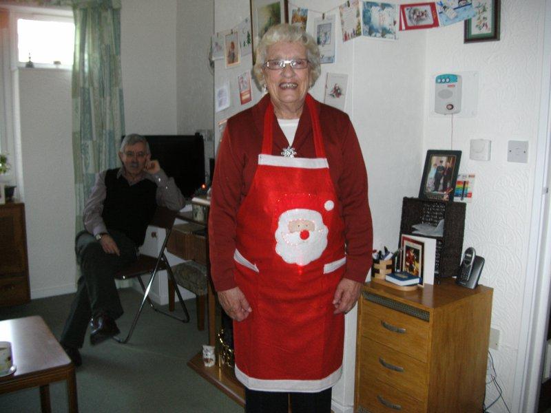 Mum loved organizing games at Christmas