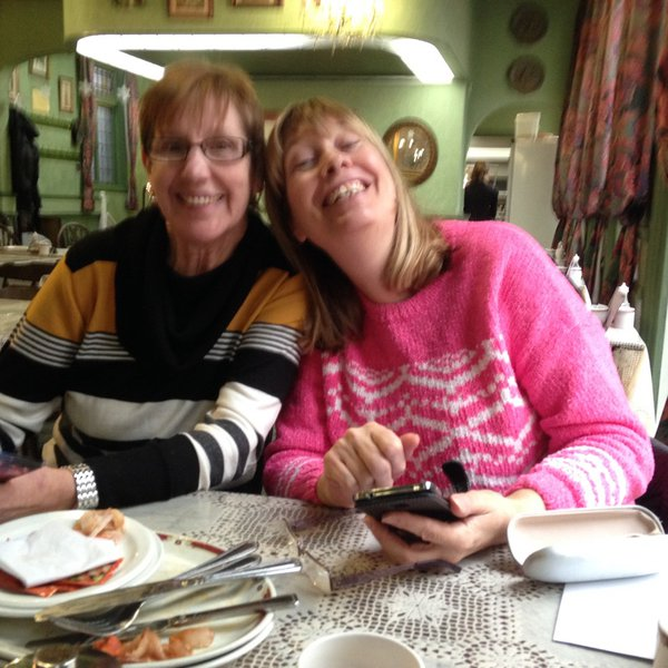 One of our Breakfast catch ups, Iris took the picture. xx