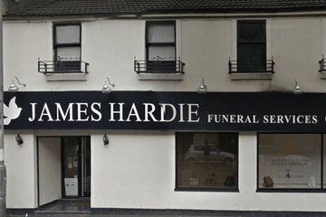 James Hardie Funeral Directors, Shettleston