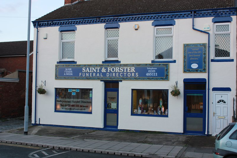 Saint & Forster Funeral Directors, County Durham, funeral director in County Durham