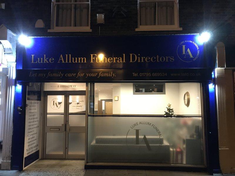 Luke Allum Funeral Directors, Kent, funeral director in Kent