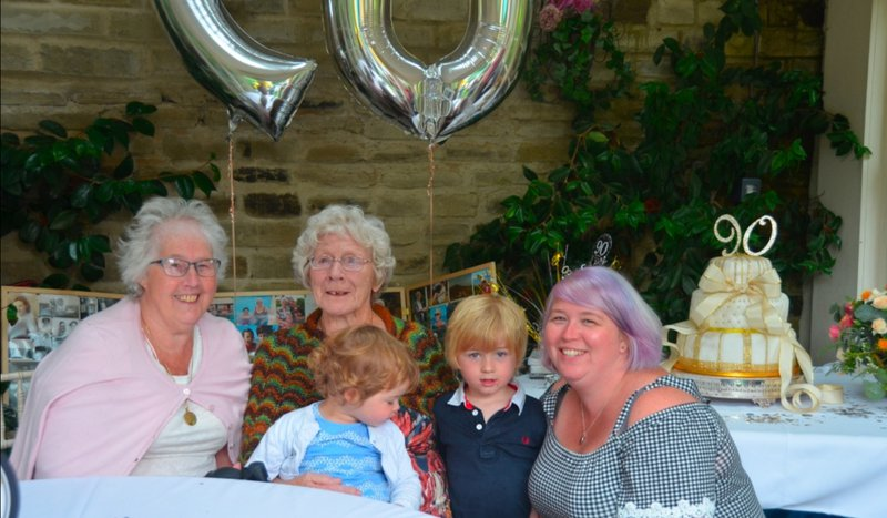 From your 90th Party xx