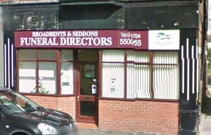 Broadbent & Seddon Funeral Directors, Merseyside, funeral director in Merseyside