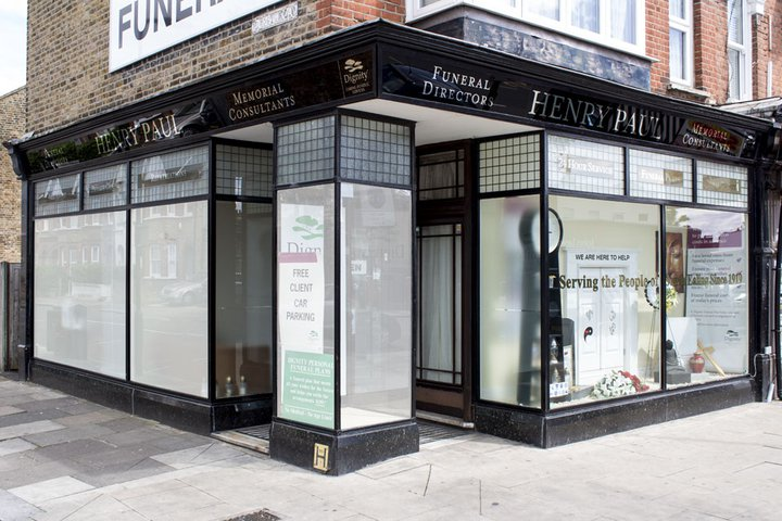 Henry Paul Funeral Directors, Ealing