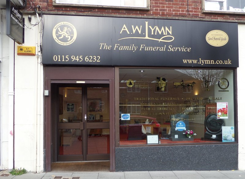 A.W. Lymn Clifton, Nottinghamshire, funeral director in Nottinghamshire