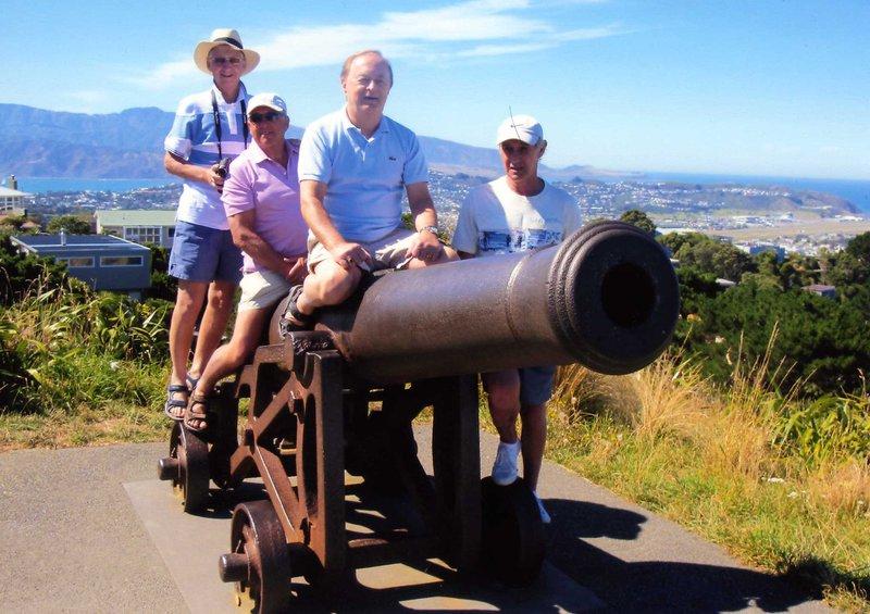 Brian blasts off in New Zealand!