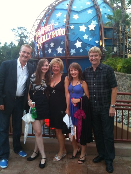 One of many happy times with Dave, Jayne and Georgia xxx