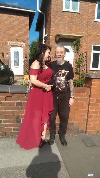 In your eternal garden now Daddy, I love you forever and always, love your Dewdrop xxx