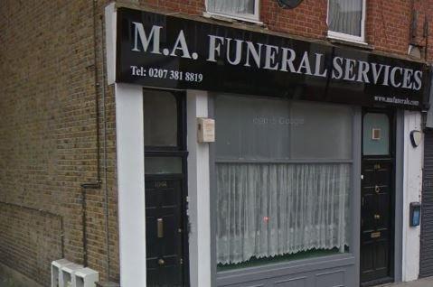 M.A Funeral Services Ltd