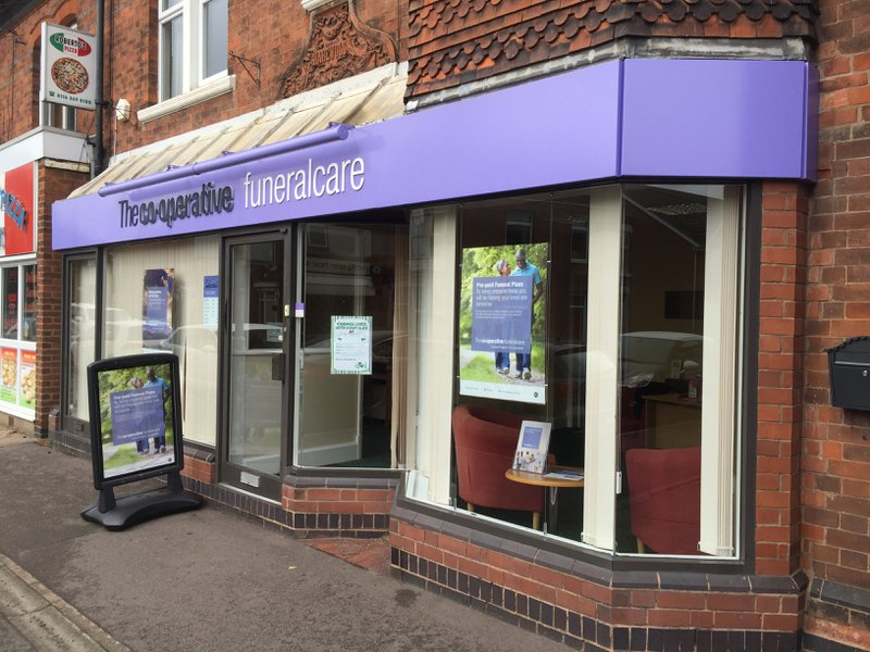 The Co-operative Funeralcare Syston, Leicester, funeral director in Leicester