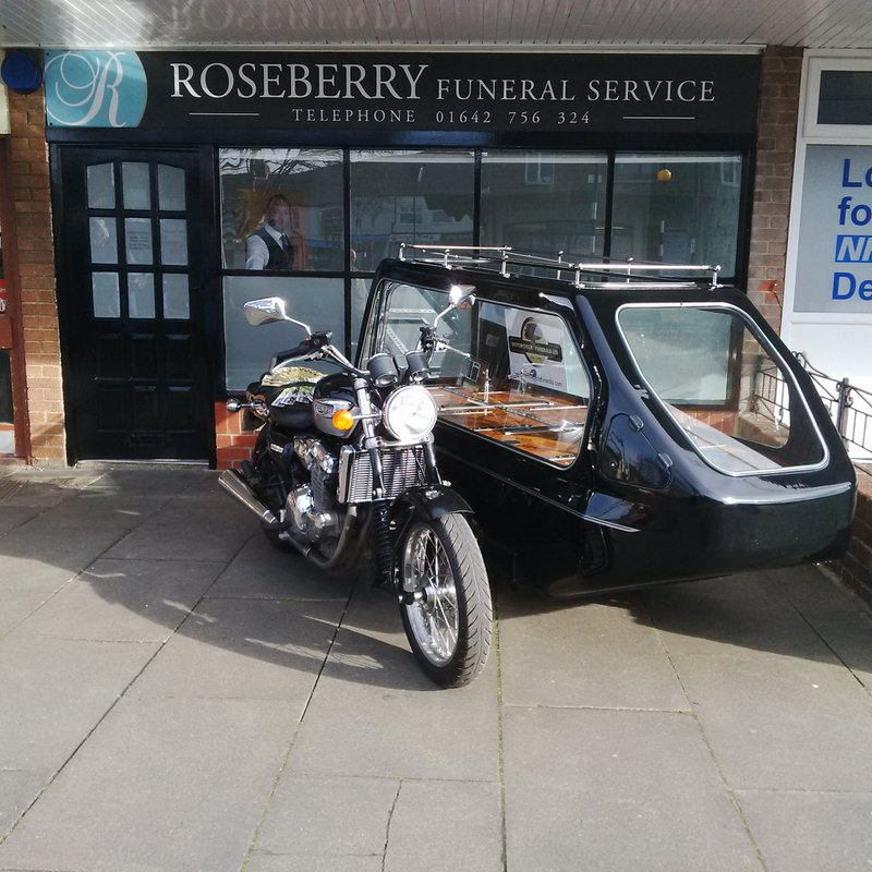 Roseberry Funeral Services,The Wynd, Cleveland, funeral director in Cleveland