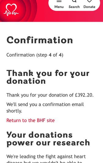 A total of £264.53 was donated to Macmillan from Carol funeral collection, a charity she made a regular payment to.