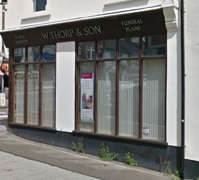 W Thorp & Son Funeral Directors